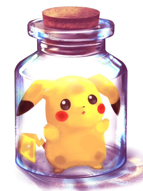 Pikachu and The Jar