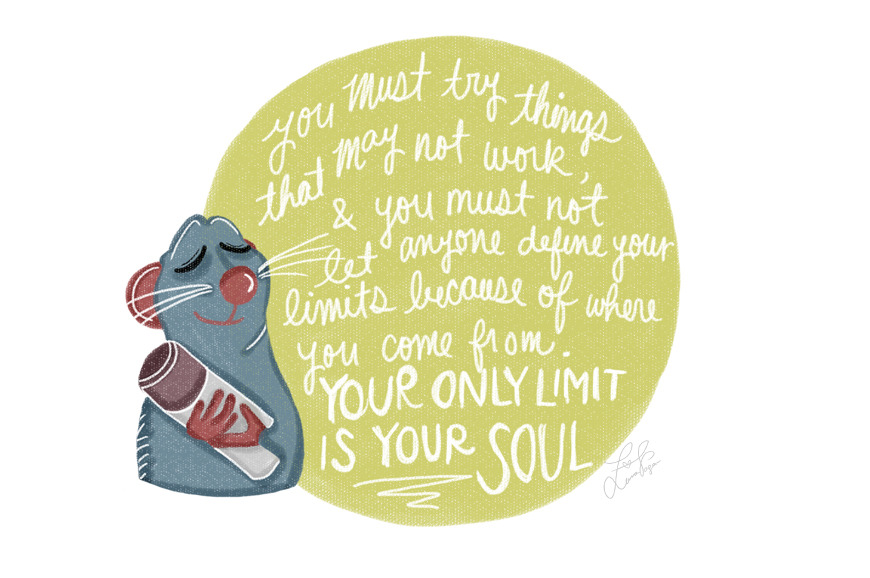 teafromneverland:  My favorite Pixar quote :)
