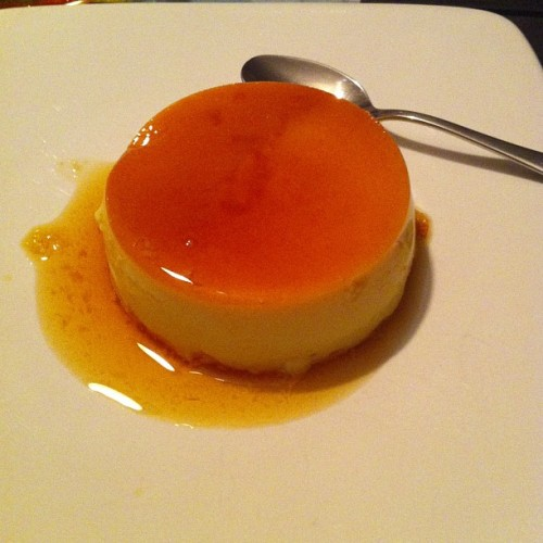 Great first attempt at a Creme caramel by Lee and Emma