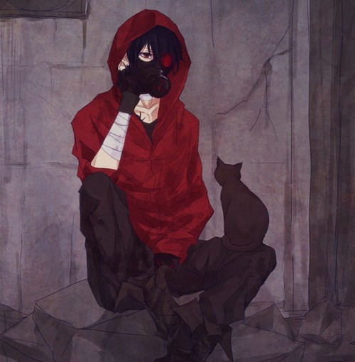 anime gas mask   Tumbl...