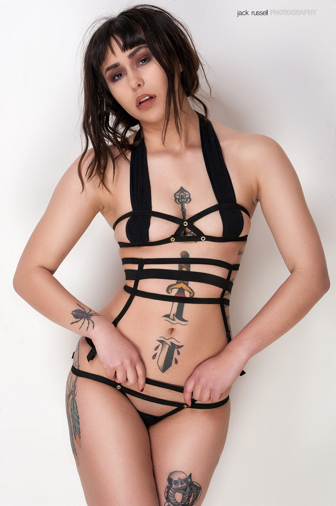 Pantie suspenders now available at peepingpussy.bigcartel.com £7 Photographer:jack russell.