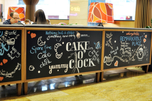 visualgraphic:  Cafe Lettering