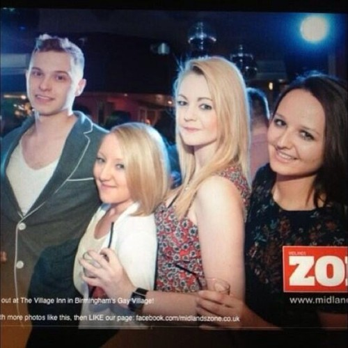 yep we made it into a gay magazine #famous #nightout #birmingham #birthday #gay #gaynightout  #gaybestfriend #papped #bitchwearefabulous #fabulous