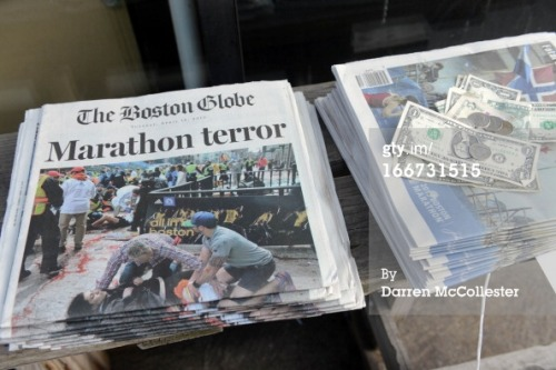 gettyimages:  Boston Deals With Aftermath Of Marathon Explosions  Photos by: Darren McCollester/Stringer/Spencer Platt/Getty Images