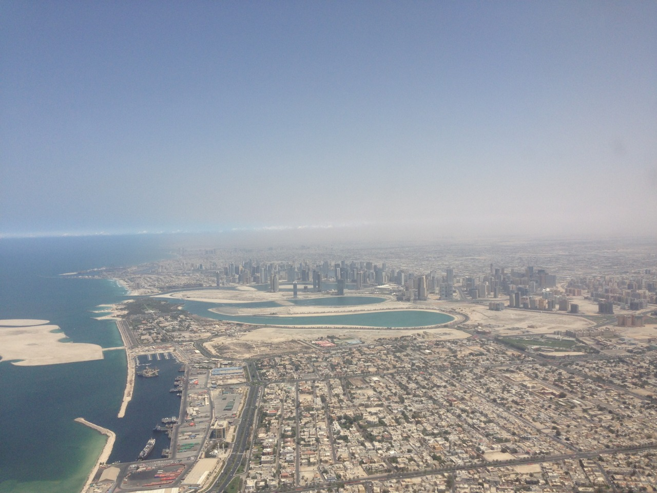 Stunning view over Dubai during our travels a few weeks ago.
