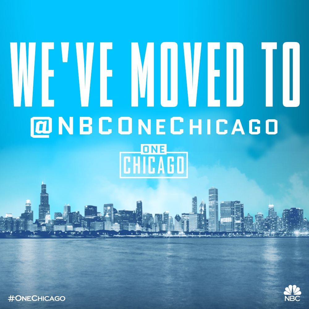 Visit us at @nbconechicago, your one stop shop for all things One Chicago!