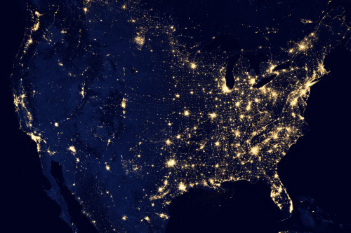 NASA's New Night Shot Of The United States