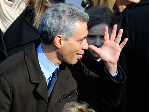 Rahm-a-lam­­-a-ding-d­o­ng says Chicago is a model for America and gun control, Chicago is one of the most heavily gun controlled cities in the nation, we only had 7 people shot on …Bloody Christmas Eve