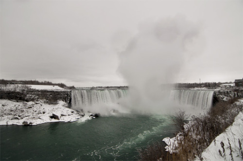 'Niagara Fall' -2012, Niagara Falls, Canada. Drove up to Toronto to see Alexisonfire play their farewell show. Stopped by Niagara to check out the gnarly falls.