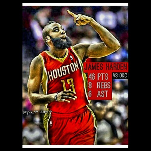 mj9599:  #JamesHarden #HoustonRockets #NBA #Basketball #FearTheBeard