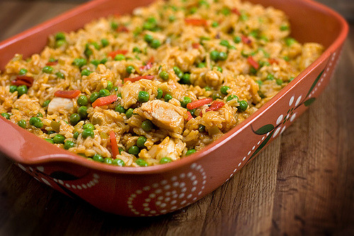 prettygirlfood:  Arroz con Pollo (Chicken with Rice)