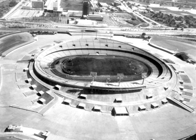 Estadio Olimpico Universitario (Mexico - 1952).