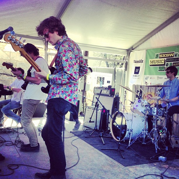 We heart #ducktails! Tumblr + GAP showcase begins #sxsw #filteronrainey #filtermagazine #tumblrxgap #clivebar (at Rainey Street)