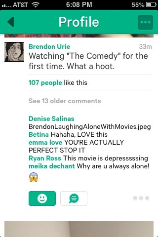 brendonsbooty:  findanewway:  ryan commenting on brendon's vine awww  I'M GOING TOFC UKING CRY