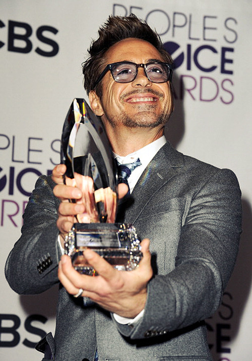 lightofmyfire:   Robert Downey Jr. winner of Favorite Movie Actor
