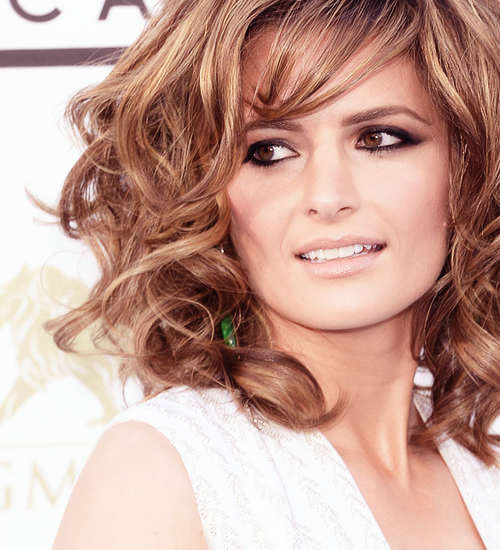 Stana Katic arrives at the 2013 Billboard Music Awards at the MGM Grand Garden Arena on May 19, 2013 in Las Vegas, Nevada.