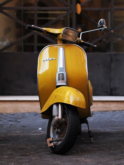 Vespa On Lockdown.
