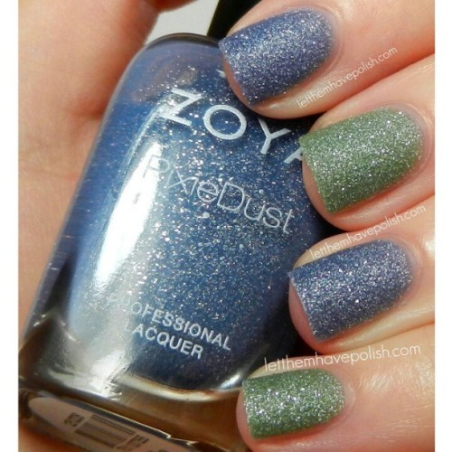 On the.blog today I have @zoyanailpolish PixieDusts in Nyx and Vespa as well as a recap of all six pixie dust Spring shades. Im having a hard time choosing favorites… Chyna is definitely up there as well as Vespa… But they are all so stunning. #officialletthemhavepolish #zoyanailpolish #texturednailpolish #texturednails #nailporn #nailpolish #nails #nofilter #cflbeautyblogger #beautyblogger #glitterynails