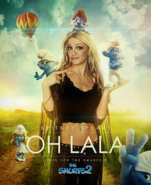 Ooh La La - Britney Spears * Brand new leaked single from Britney Spears which will be featured in the upcoming summer film - The Smurfs 2!