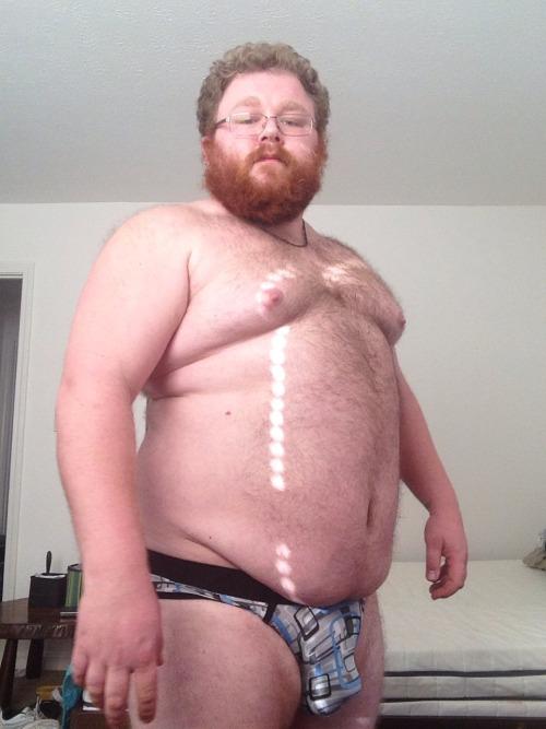 fuzzbutt07:I got new underwear! Plus a sneak peek at my new swimwear for MidWestBearFest next week.