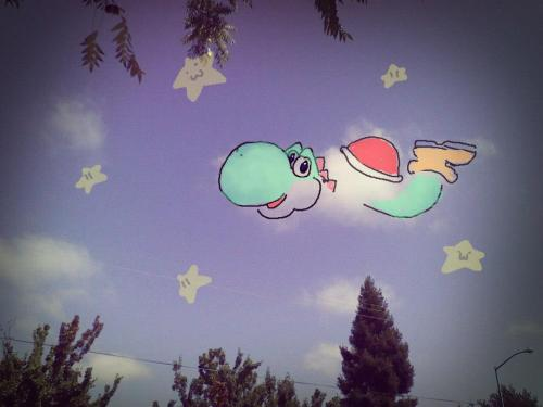 From September- I spotted Yoshi in the sky.