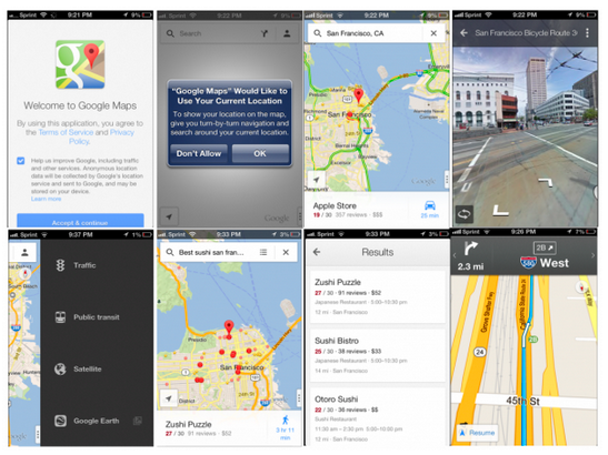 Google has released its long-awaited map app for the iPhone. The bottom line: it delivers.