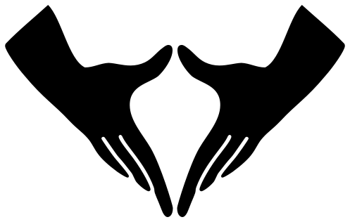 "LGBTQ* ""Signs"" from Our Past  ""Vulva Hands"" — A gesture of lesbian solidarity which was popular during the 1980s. It is believed that the gesture originated at the women's peace camps at Greenham Common (England) and then spread to the USA. It is also the American Sign Language sign for ""vagina.""   Photo Above: Two forefingers, touching downward, and two thumbs, joined at the top, form a triangle. *For the sign of lesbian identity, the hands are held over the head in the air.  Photo Source: WikiMedia"