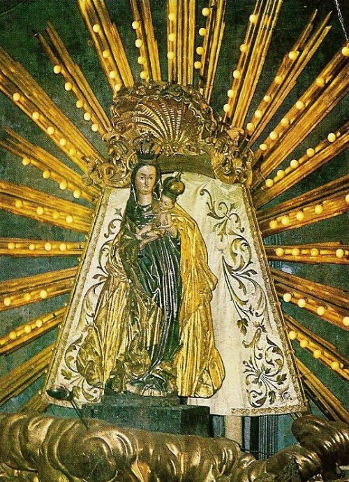 Gnadenbild Maria TrostThe miraculous image of Mary venerated in the pilgrimage basilica of Our Lady of Consolation in Graz, Austria.