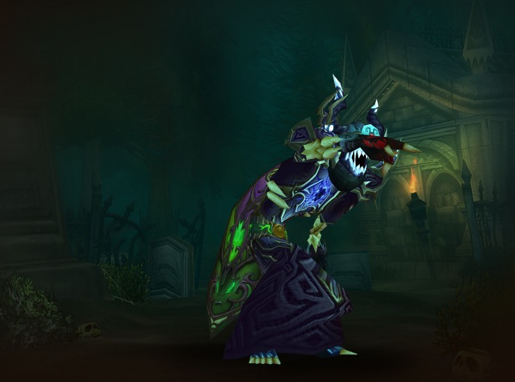 Loqskoot, Destroyer's End Male Undead Warlock US Arthas [Xaril's Hood of Intoxicating Vapors] [Voidheart Mantle] [Mindshard Drape] [Voidheart Robe] [Attenuating Bracers] [Sha-Skin Gloves] [Invoker's Belt of Final Winter] [Voidheart Leggings] [Sandals of the Blackest Night] [Regail's Crackling Dagger] [Bottle of Potent Potables]