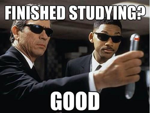 Hey Hokies, studying for exams? Tell me if you can relate to this image. I know I can.