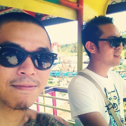 Skycycle with my chauffeur @wvinci  (at Sky)