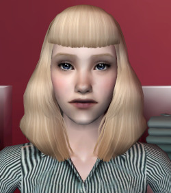 I also made TS3 Agnes Crumplebottom, who has absolutely nothing to do with MM but is an absolute cutie and is probably gonna anachronistically end up in my Pleasantview.