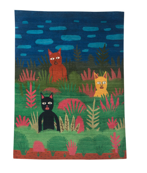 Cats - Jack Teagle - Foundation Rugs