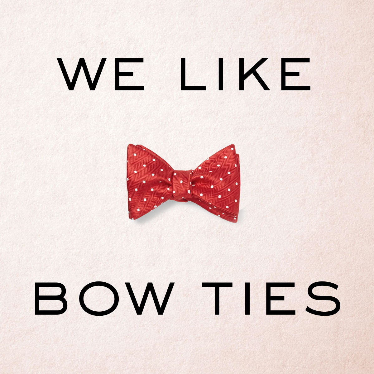 mrporter:  SHOP bow ties at: http://mr-p.co/2mQTZe