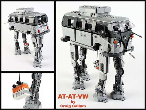 AT-AT-VW by lego_nabii on Flickr. fahrvergnugen