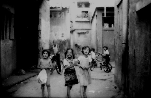 One of the Palestinian refugee camps in Beirut