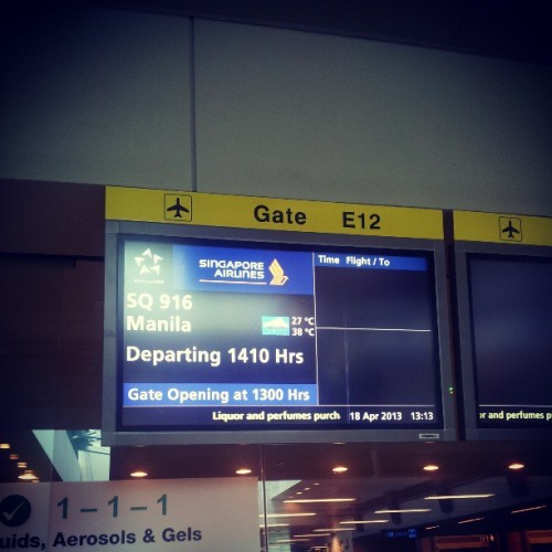 sagingtraveller:  ♪ ♫ i am coming home… to the place where i belong! ♫
