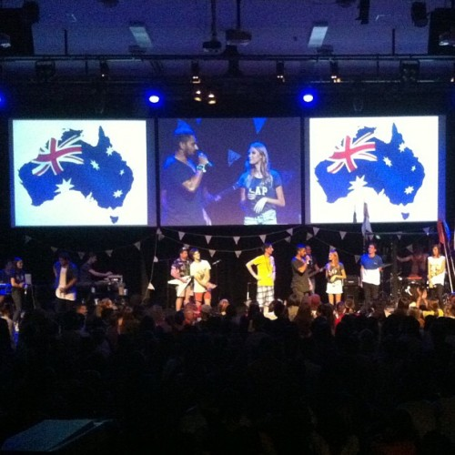 Such a good night! @hillswildlife @hillsong #australia #worship #jesus #foh (at Hillsong -HUB)