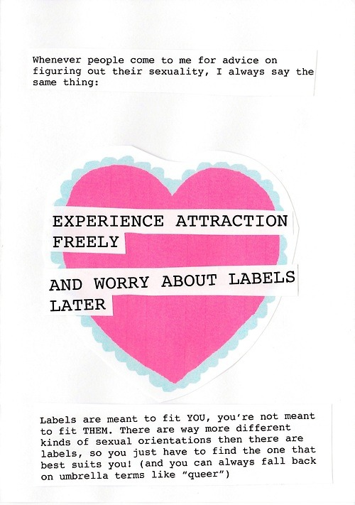 perfection.  we define labels, labels do not define us!