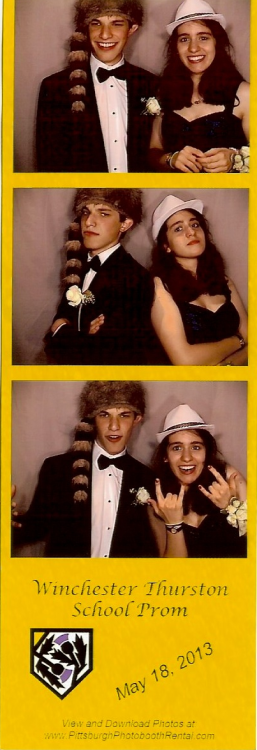 me and my prom date lookin' fly and adorbs :) YAY we are so photogenic. i can't even. too attractive for words.