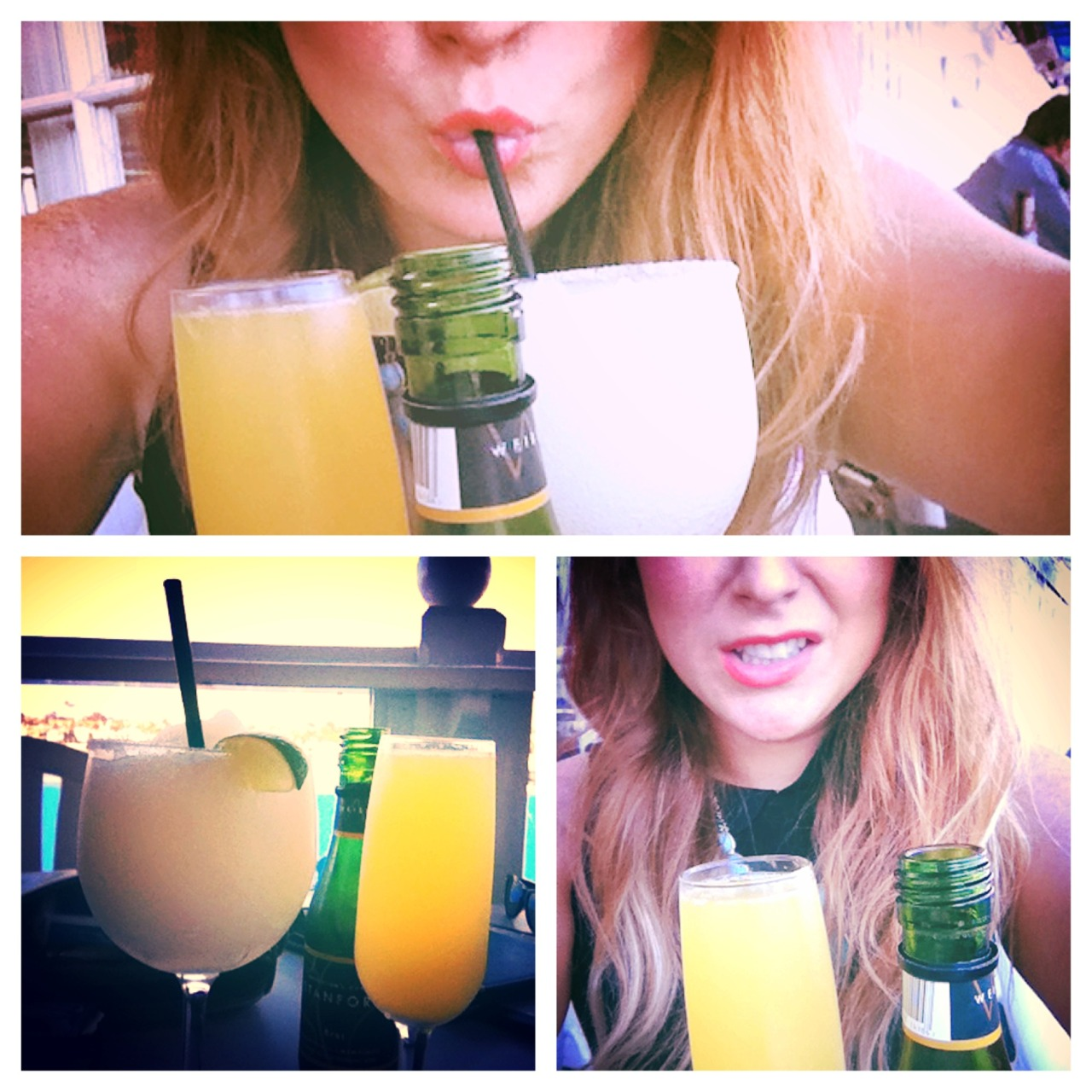 California is a dream world. Filled with mimosas and $3.99 happy hour margarita specials. Newport livin'.