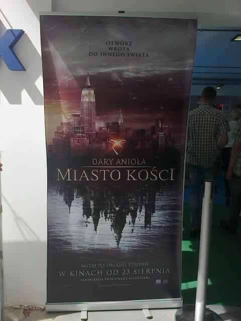 TMI promotion at Warsaw Book Fair in Poland [source]