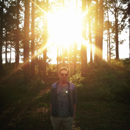 alexandersattler:  @dstine lookin regal at sunset before we went in on some Salty Dog Cafe #hiltonhead #beach #sunset #saltydogcafe