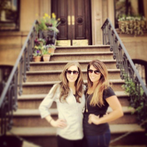 Waiting for Big. @elizabeth_anne12 (at Carrie Bradshaw's REAL Apartment from Sex & the City)