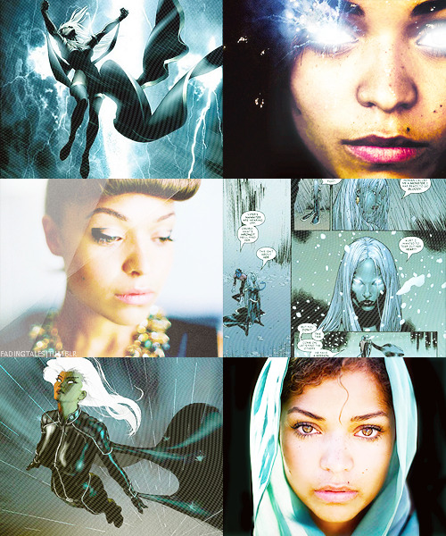 fadingtales:  A Girl Superhero DreamCast; Antonia Thomas as Ororo Munroe a.k.a Storm (for boy superheroes click here)