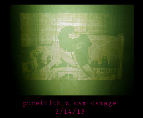 purefilthmagazine:  Announcement: PUREFILTH x Cam Damage Project In The Works.