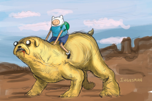 finn and jake - www.ingesman.tumblr.com