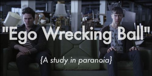 "Coming soon. ""Ego Wrecking Ball"", the new music video for Grand Rapids' locals, The Bangups. Directed by Stephen Pell and Seth Johnson. Produced by Gorilla and yours truly. Look out for in just in time for the summer and Warped Tour. Can't wait to show you guys."