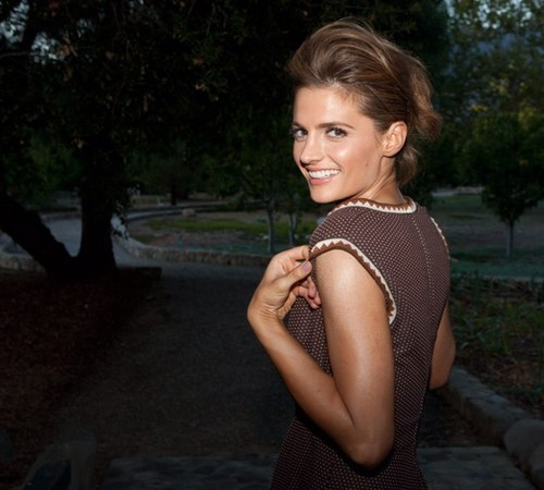 "officialcastle:  Happy Birthday to the gorgeous and talented Stana Katic! Thank you for your breathtaking performances that you give everyday on set and because of this, you have made Mondays an absolute treasure! You portray Beckett so brilliantly (tears, facial expressions, and all) and cannot imagine anyone else playing the role. ""Castle"" would be nothing you! We love you and have a  happy birthday! - The Castle Fandom"