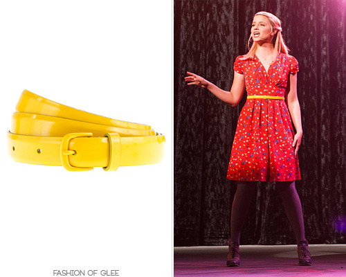 Quinn's bright belt is now on sale, at less than half price! It's a sweet way to add a pop of color to any outfit. J. Crew Enameled Belt - $19.99 (60% off!) Worn with: Anthropologie dress, Anthropologie wedges